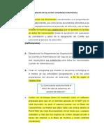 Requisitos Para El Diseño de La Acción Simultanea Electrónica