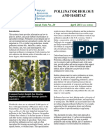 Pollinator Biology and Habitat