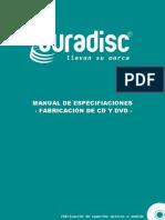 Manual de Especificaciones y Medidas