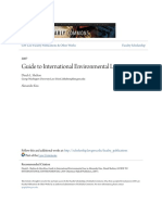 Guide to International Environmental Law