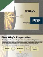5 Whys Training