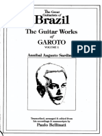 The Guitar Works of Garoto Vol 1