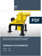 0- Manual Pulvomatic 114551