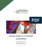 6 El gusto estetico en la sociedad postindustrial.pdf