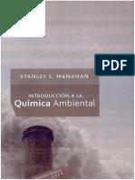 Introduccion a La Quimica Ambiental S. E. Manahan