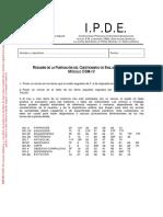 Clave de Correcciób IPDE Modulo DSM-IV