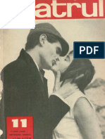 Revista Teatrul, nr. 11, anul X, noiembrie 1965