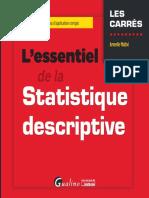 L'Essentiel de La Statistique Descriptive