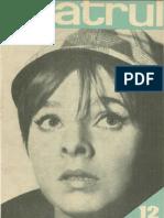 Revista Teatrul, nr. 12, anul X, decembrie 1965