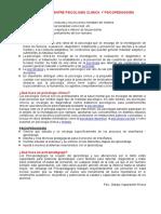 DIFERENCIAS ENTRE PSICOLOGÍA CLINICA  Y PSICOPEDAGOGÍA.docx