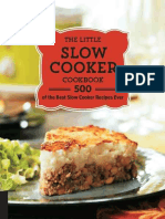 The Little Slow Cooker Cookbook 500 of the Best Sl