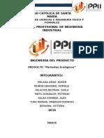 Informe Final Producto Parlante Ecològico