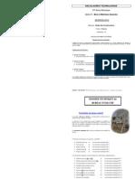 Etude constructions bois matériaux associés Bac techno STI Génie Mécanique métropole