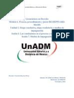 M6Unidad3. Etapa conclusiva, etapa resolutoria y medios de impugnación