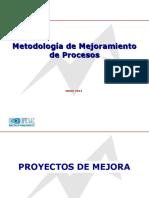 Metodologia de Mejora de Procesos. Los 7 Pasos .