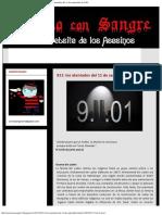 Escrito Con Sangre... ¡El Website de Los Asesinos!_ 911_ Los Atentados Del 11 De