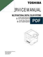 Toshiba 2050C 2550C 2551C Service Manual