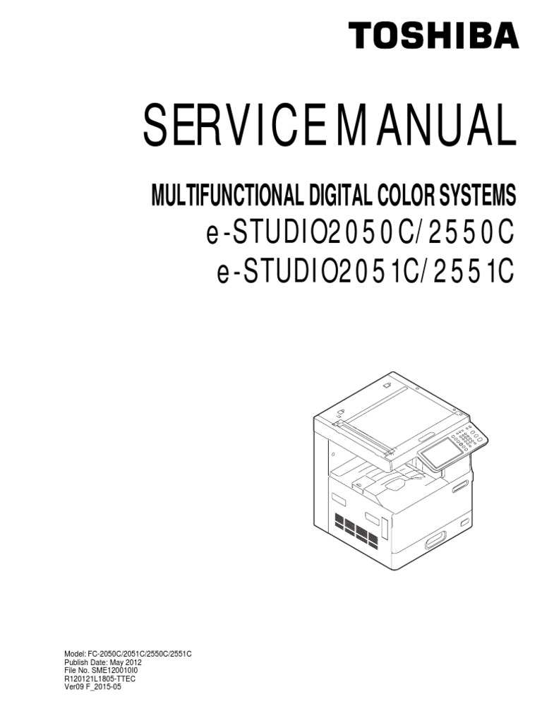 Toshiba 2050C 2550C 2551C Service Manual | Microsoft Windows | Operating  System