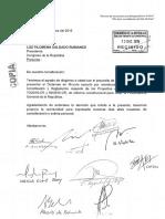 Dictamen de minoría propone que Procurador General de la República sea propuesto por el Ejecutivo.