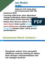 Diseminasi Blok Content 2010