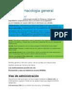 Farmacologia General Repaso Clinico