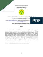 Jurnal Praktikum Fisiologi Hewan
