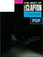 Eric Clapton the Best of Guitar Songbook
