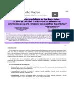 El Somatotipo-morfología en Los Deportistas
