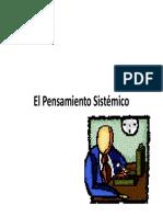 1.0.Pesamiento Sistemico