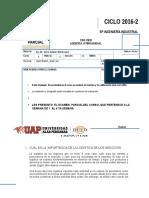 Examen Parcial Logis Internacional 2016-2