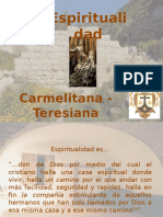 presentacionEspiritualidadCarmelitana-Teresiana