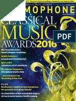 Gramophone Magazine - Awards 2016
