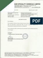Grant of Patent [Company Update]