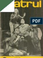 Revista Teatrul, nr. 3, anul XI ,martie 1966