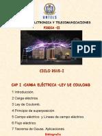 Cap i II Carga Electrica Campo Electrico