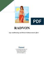[Radiant] Radvon Dossier(2015!08!10)