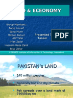 Pakistan's LAND & ECONOMY - a brief view