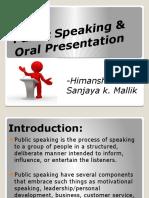 publicspeakingoralpresentation-110130092848-phpapp02