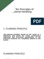 Principle of MH