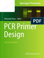 (Methods in Molecular Biology 1275) Chhandak Basu (Eds.)-PCR Primer
