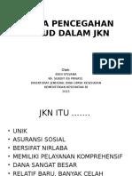 Seminar Pencegahan Fraud Jkn