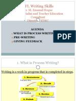 EFL Writing Skills - Dr. M. Enamul Hoque