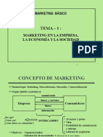 Tema 1 - Marketing Empresa Economia y Sociedad