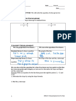 g8m4l19- writing equations given two points  2