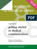 Careersguide Medical Writing