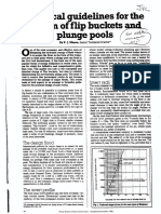 Practical Guidelines for the Design of Flip Buckets and Plunge Pools