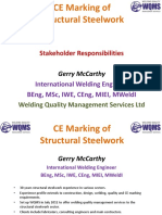 CE Marking of Structural