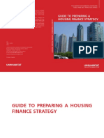 Guide to Preparing a Housing Finance Strategy Human Settlements Financing Tools and Best Practices