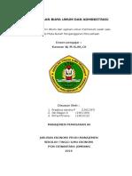 Anggaran Biaya Umum Dan Administrasi