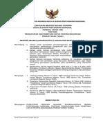 Peraturan Menteri Negara Agraria Nomor 2 Tahun 1996